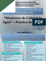 Clase 05 MyCC 29-09-2017_Practica de Campo 1_Monitoreo de Calidad de Agua