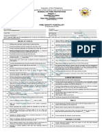 Fire Safety Checklist on Building Plans Final
