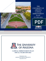UA Capital Improvement Plan 2019-2021