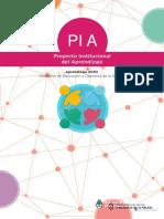 Proyecto Institucional de Aprendizaje [PIA] Presidencia de la Nación 2017