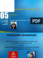 Manajemen Operasional - Teori Antrian