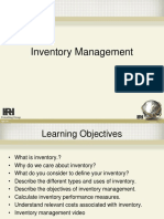 Inventory Management Clase 1 Sept-Dic 2017