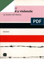 5. Identidad y Violencia - Amartya Sen