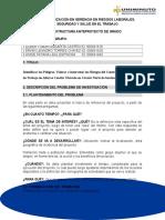 FORMATO ACTIVIDAD(Proyecto Investigación)