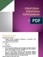 Peraturan-peraturan Kepegawaian Kt-ub 20150211152613