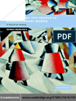 (New Studies in European History) Sarah Badcock-Politics and people revolutionary russia-Cambridge University Press (2007).pdf