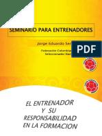 I.D.R.D Capacitacion Rol Del Formador