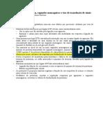 5 - Resumo II Berne - Receptores de Membrana e Segundos Mensageiros