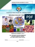 Biologia Celular y Molecular-GUIA PRACTICA -PROPUESTO-segun Silabo 2017-I