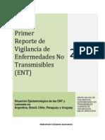 I Reporte Vigilancia ENT 2011