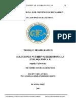 Soluciones Nutritivas Hidroponicas Avance de La Monografia (1)