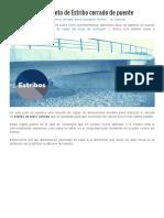 Predimensionamiento de Estribo Cerrado de Puente _ Estructurando