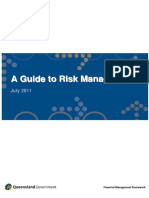 A Guide to Risk Management (AUS 2011)