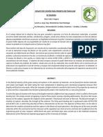 Informe Ensayo de Flexión Para Probeta Rectangular