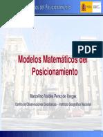 Modelos Matematicos Del Posicionamiento