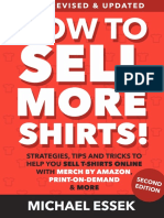 NEW How to Sell More Shirts First 3 Chapters