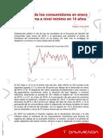 Anex Confianza Del Consumidor Se Desploma