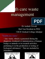 Health Care Waste Management
