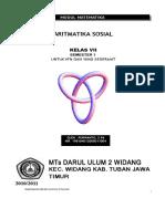 aritmatika sosial matematika.doc