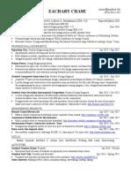 zchase resume f17