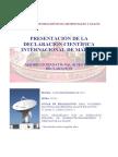 Programa Presentación Declaración de Madrid
