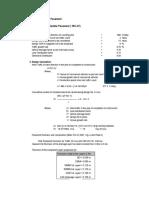 Pavement Design Excel Sheet