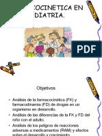Farmacocin Tica en Pediatria