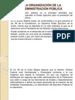 La Organización de La Administración Pública