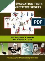 Fitness Evaluation Tests for Competitive Sports - Nande, Prajakta J.; Vali, Sabiha a.;