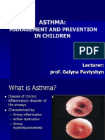 Lecture 06. Bronchial Asthma