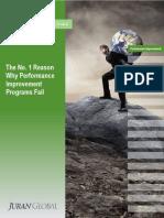 9002 the No. 1 Reason Why Performance Improvement Programs Fail
