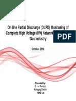 2 HVPD Night 2 on Line Partial Discharge OLPD Monitoring of Complete HV Networks OG Industry Oct.14