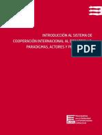 INTRODUCCIÓN AL SISTEMA DE  COOPERACIÓN INTERNACIONAL AL DESARROLLO.   PARADIGMAS, ACTORES Y PERSPECTIVAS