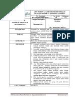 Sop Perawatan Pasien Post Operasi Dengan Anastesi General Fix