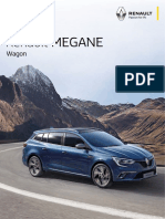 Renault KFB Megane Wagon Brochure (August 2017)