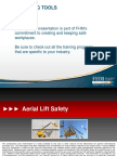 Aerial Lift Safety FHM Cover 10.11