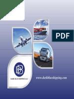 Dark Blue Shipping Catalogue