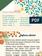 Gugus Fungsi Alkohol PPT FIX