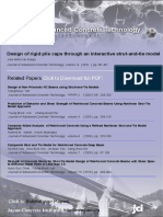 Design of Rigid Pile Caps Through an Iterative Strut-And-Tie Model