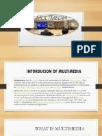 Multmedia Presentation Rahul