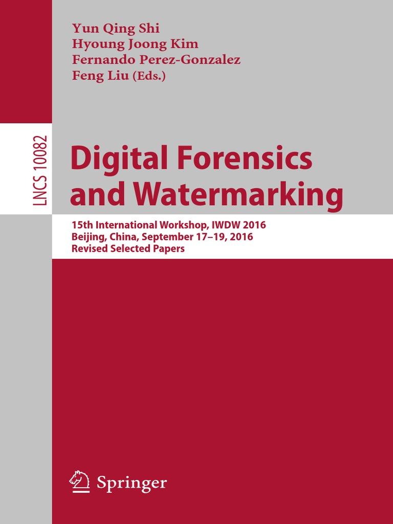 2016 Digital Forensics And Watermarking Applied Mathematics Circuit Diagram Amplifier Circuits Audio Yonghua Mo Algorithms