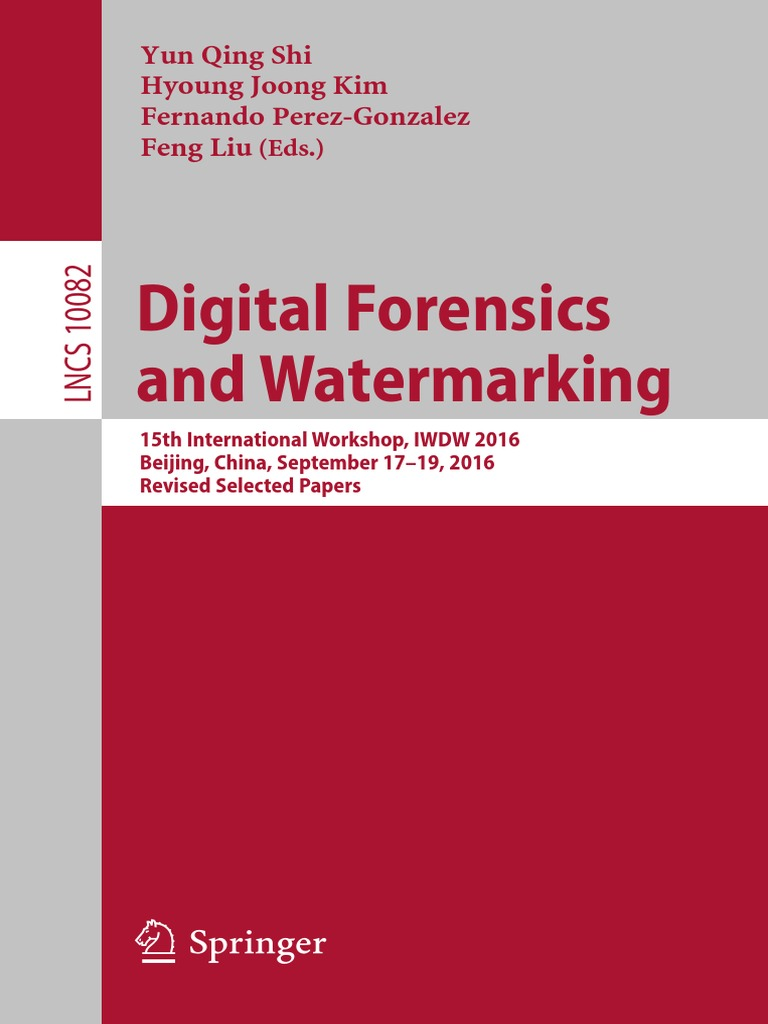 2016digital Forensics And Watermarking Applied Mathematics