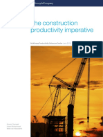 The Construction Productivity Imperative