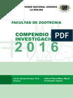 Compendio Investigacion 2016