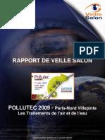 Rapport Veille Salon Pollutec 2009 Traitement Des Pollutions