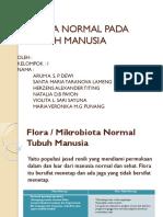 FLORA NORMAL PADA TUBUH MANUSIA.pptx