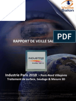Rapport Veillesalon Industrie Paris 2010