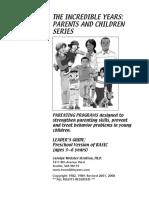 Basic Program Handouts Appendix 08