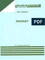 NIELSEN, C. - Fantasy (Para Clarinete y Piano)
