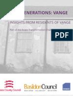 Executive Summary - Vange New Generations Insights
